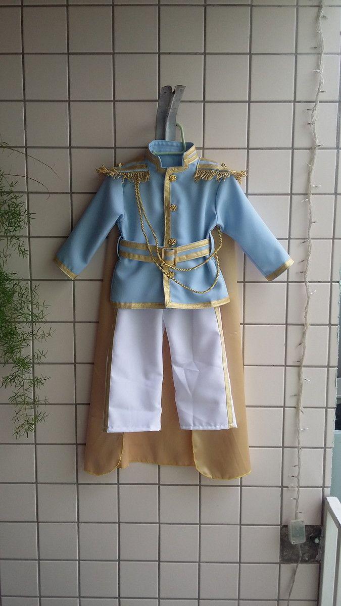 Casaco Pequeno Príncipe + Coroa