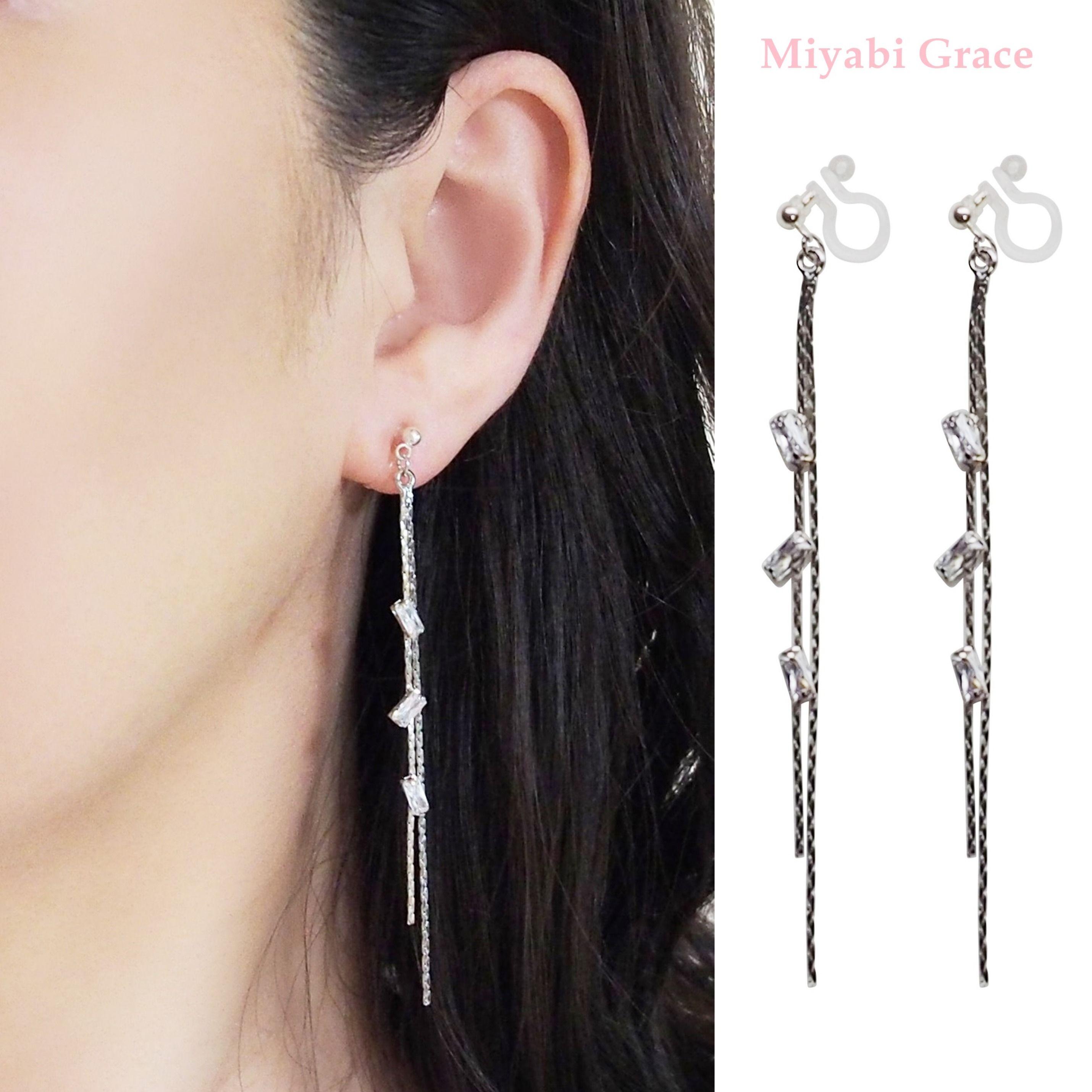 Pin on ミヤビグレース Miyabi Grace ノンホールピアス 樹脂