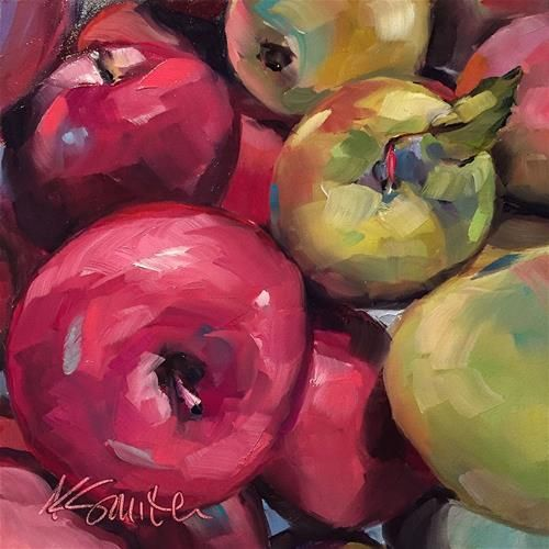 "Daily+Paintworks+-+""a+perfect+match""+-+Original+Fine+Art+for+Sale+-+©+Kim+Smith"