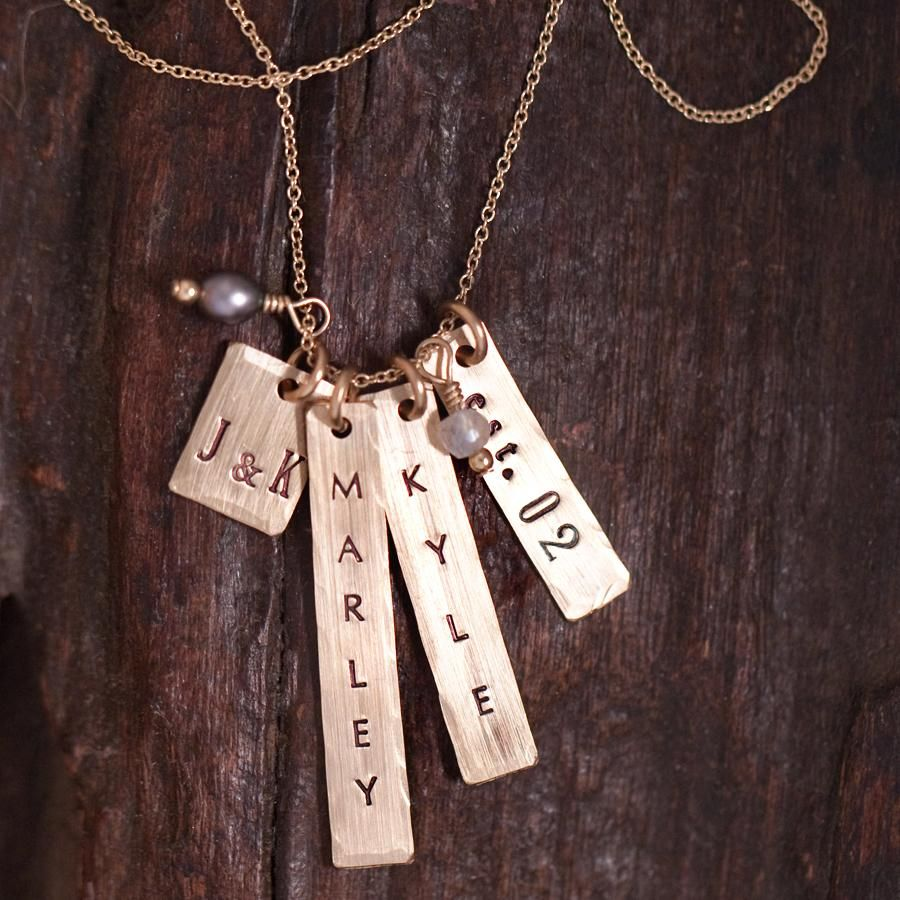 Aria Personalized Name Necklace