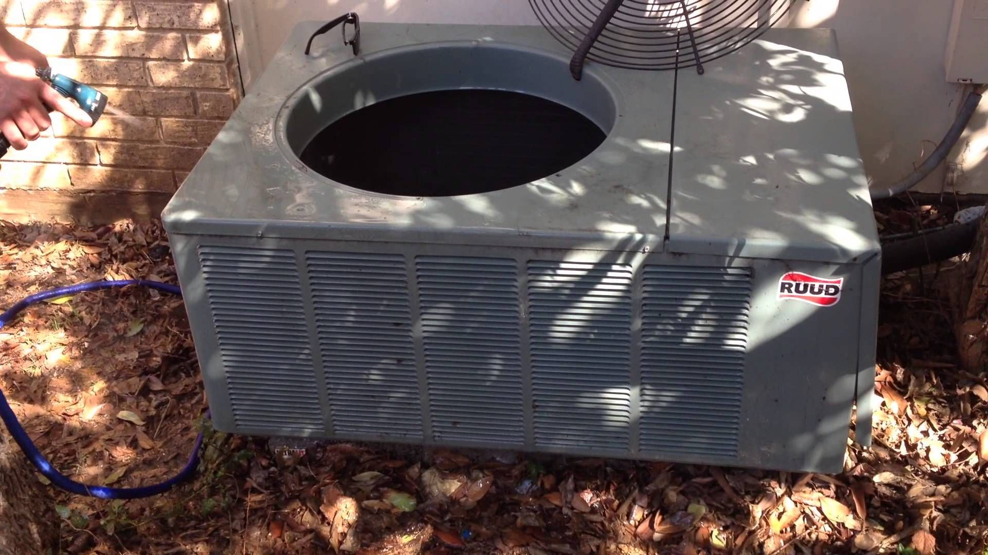 DIY How to Clean an Air Conditioner Condenser Air
