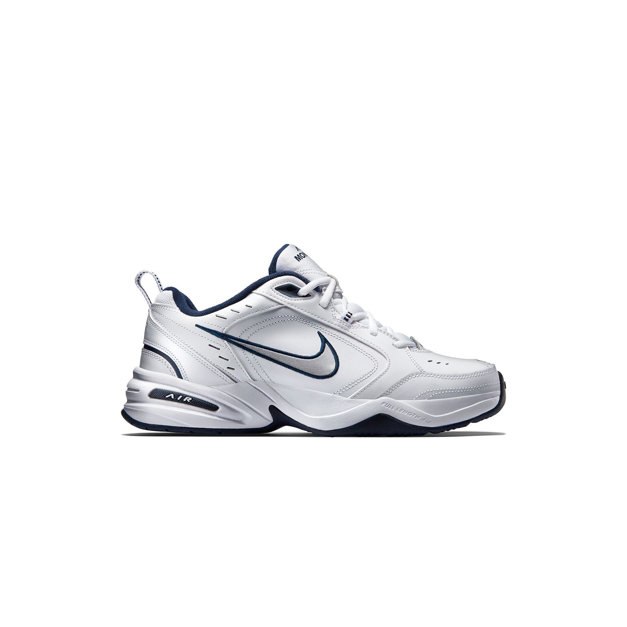 Nike Air Monarch IV Men's Cross-Training Shoes, Size: 14, White