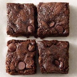 Whole-Wheat Dark Chocolate Zucchini Brownies