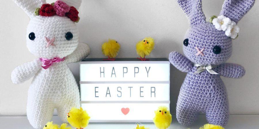 Conejito de Pascua ganchillo patrón – ZoeCreates | Amigurimis ...