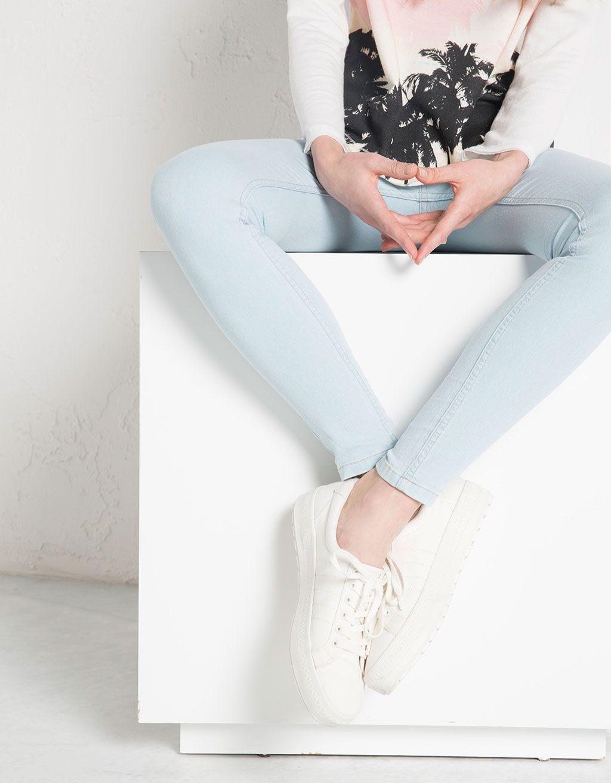 665c132ce84e66 Bershka Jordan - BSK Skinny jeans