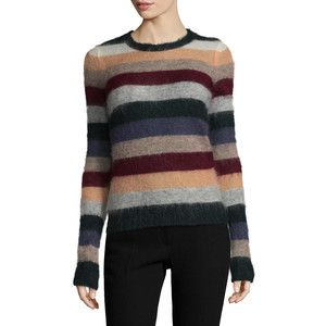 8c0a7a47b1e Isabel Marant Women s Cassy Striped Sweater - Size 42