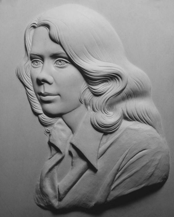 Plaster Wall Mounted or Wall Hanging #sculpture by #sculptor David ...