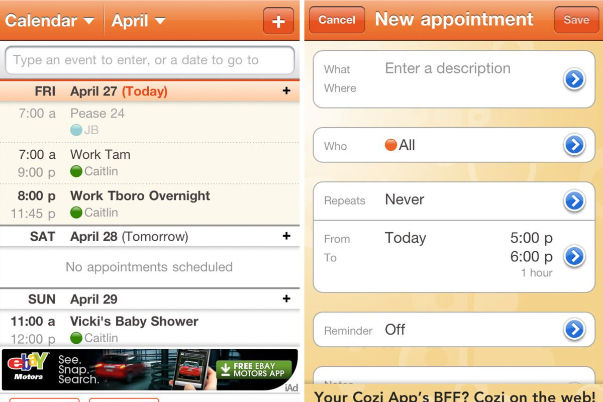 Cozi App A Modern Method To Stay Organized App Time Management