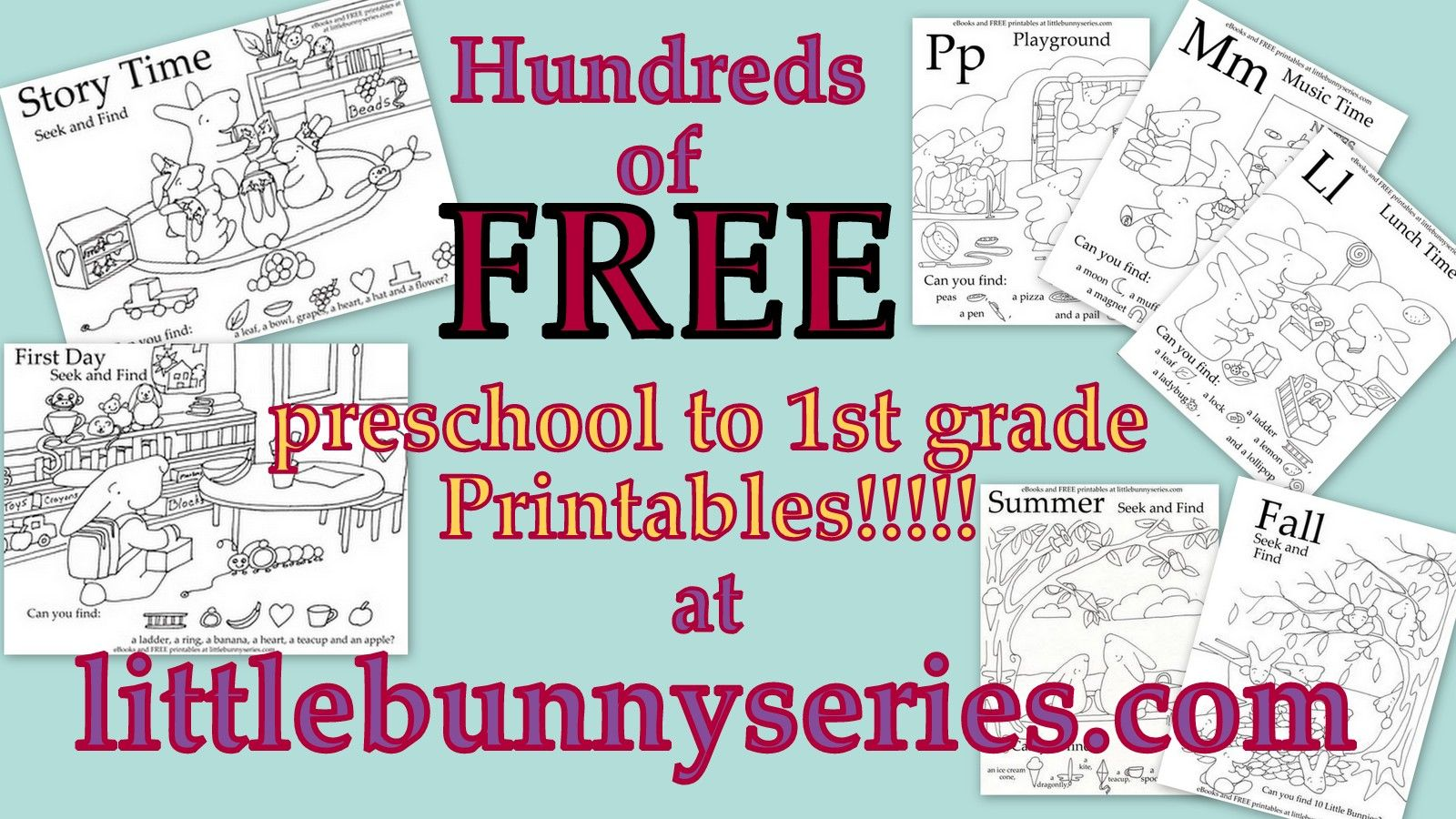 Ebooks And Hundreds Of Free Preschool To 1st Grade