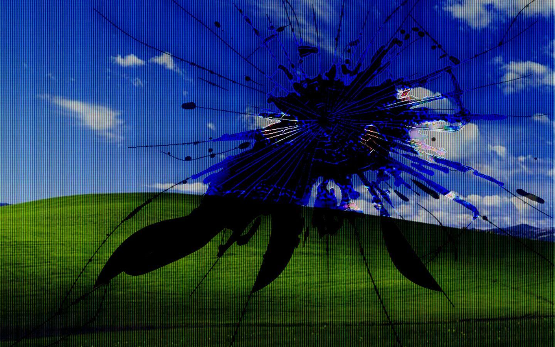 blissbrokenamb Computer screen wallpaper, Broken