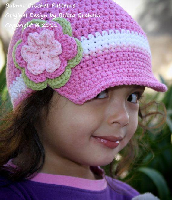 Hat Crochet Pattern - Easy Peasy Newsboy Pattern No.302 Unisex TEN Sizes