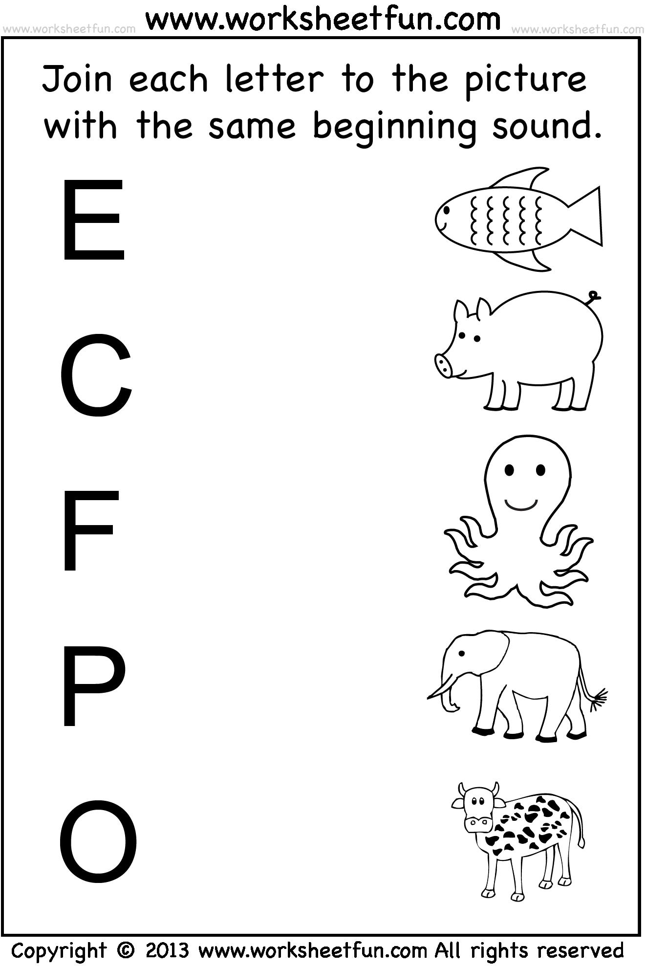 medium resolution of Preschool Worksheets   Kindergarten worksheets free printables