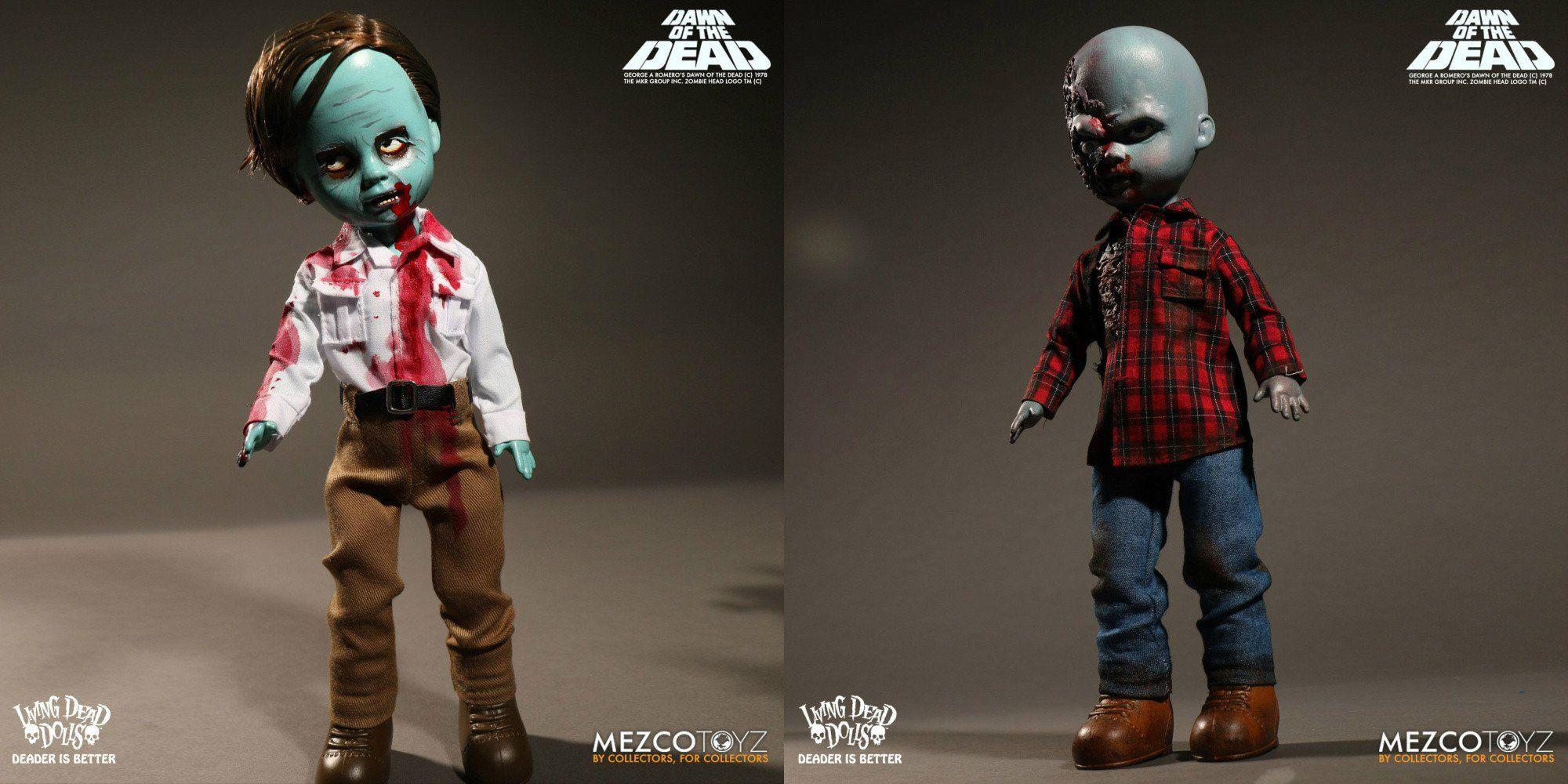Living Dead Dolls Dawn of the Dead Plaid Shirt Zombie Doll