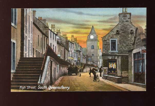 South Queensferry...I lived here for 7 years