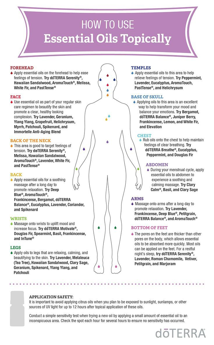 How to Safely Use Essential Oils Topically