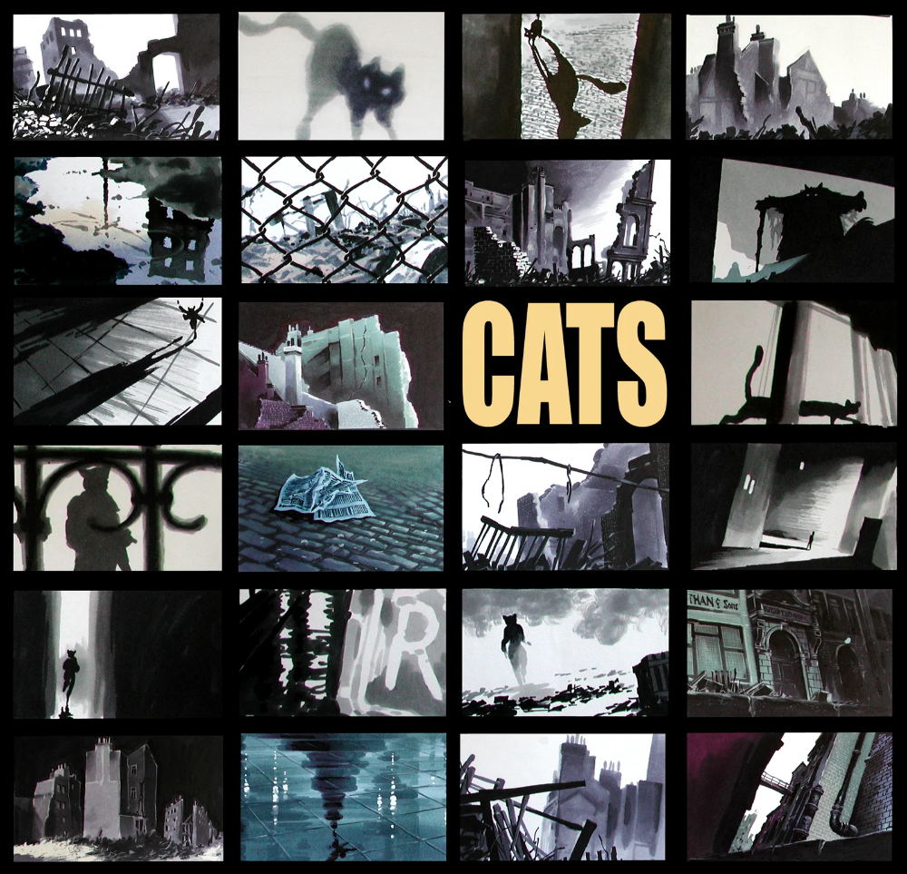 Stunning Concept Art For Spielberg's Animated Cats Movie