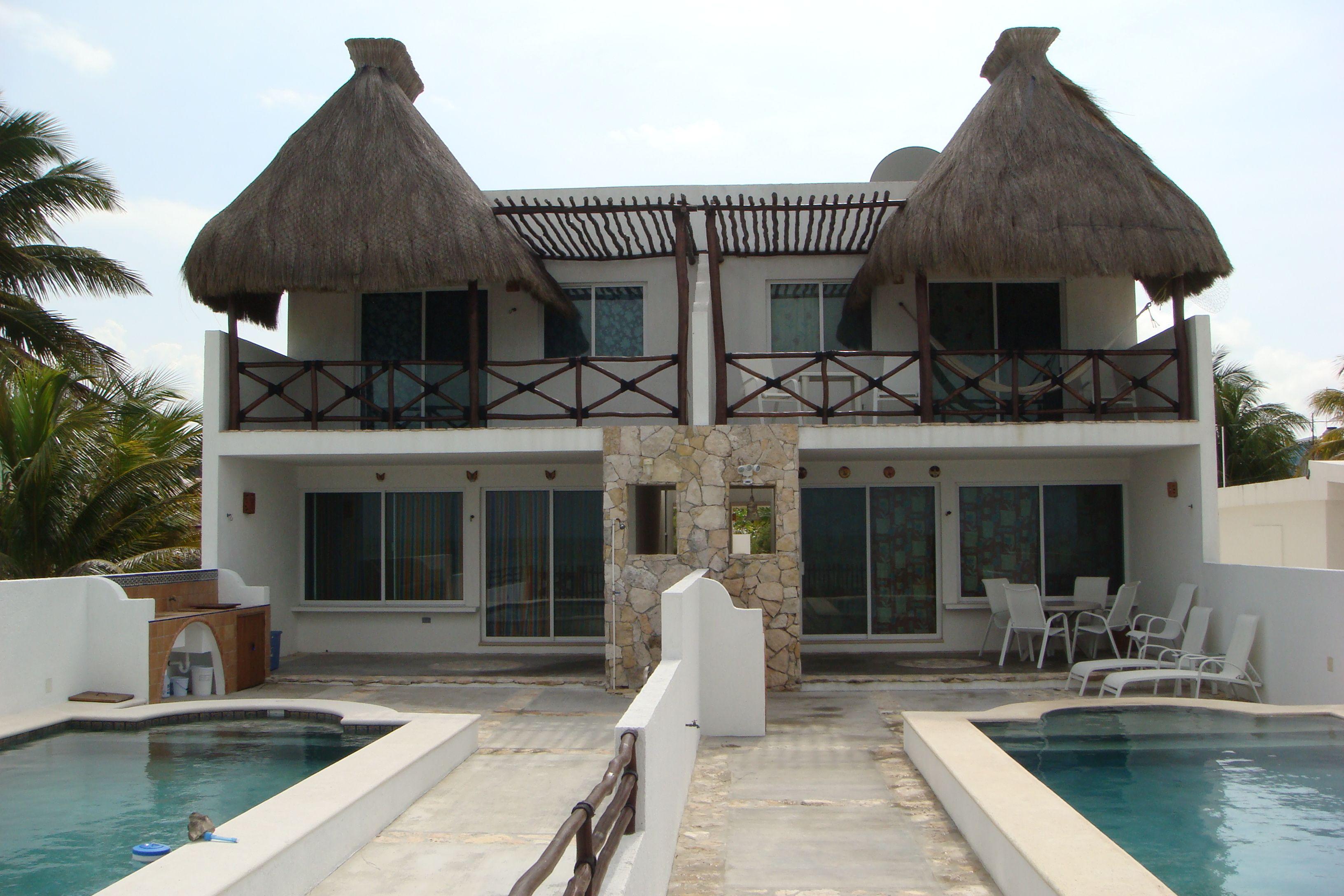 Beachfront villas in Telchac Puerto Yucatan Mexico | Casa