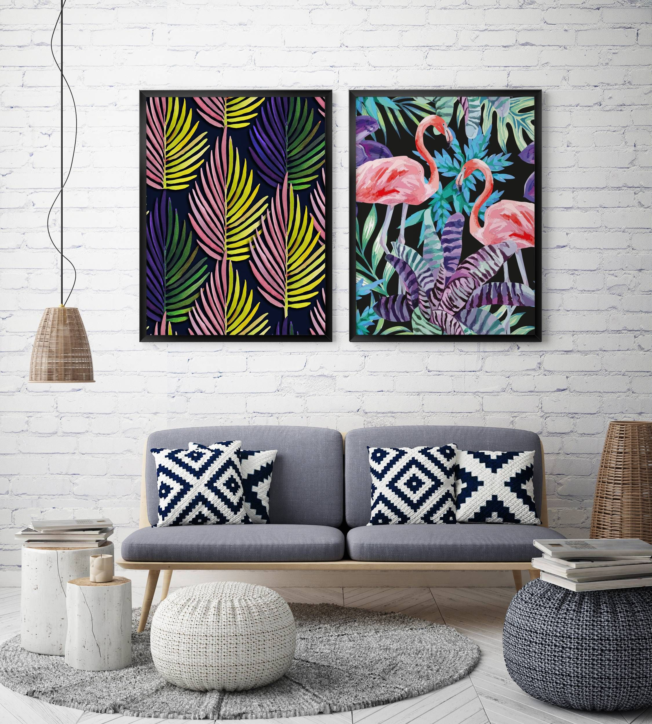 Tropical Vibe Posters Nature Living Room Contemporary Pixers We Live To Change In 2020 Hipster Interior Decor Home Decor #tropical #design #living #room