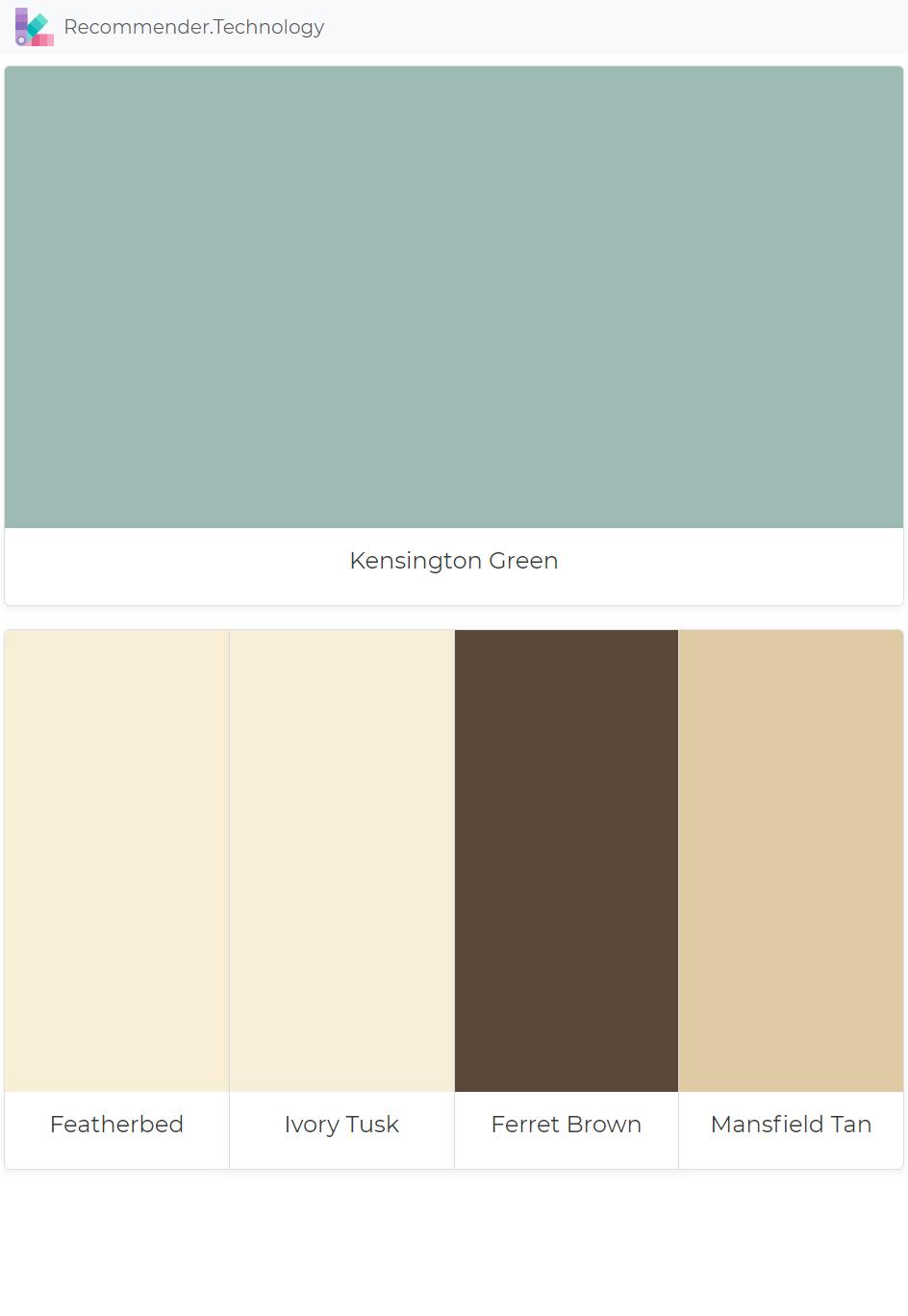 Kensington Green Featherbed Ivory Tusk Ferret Brown