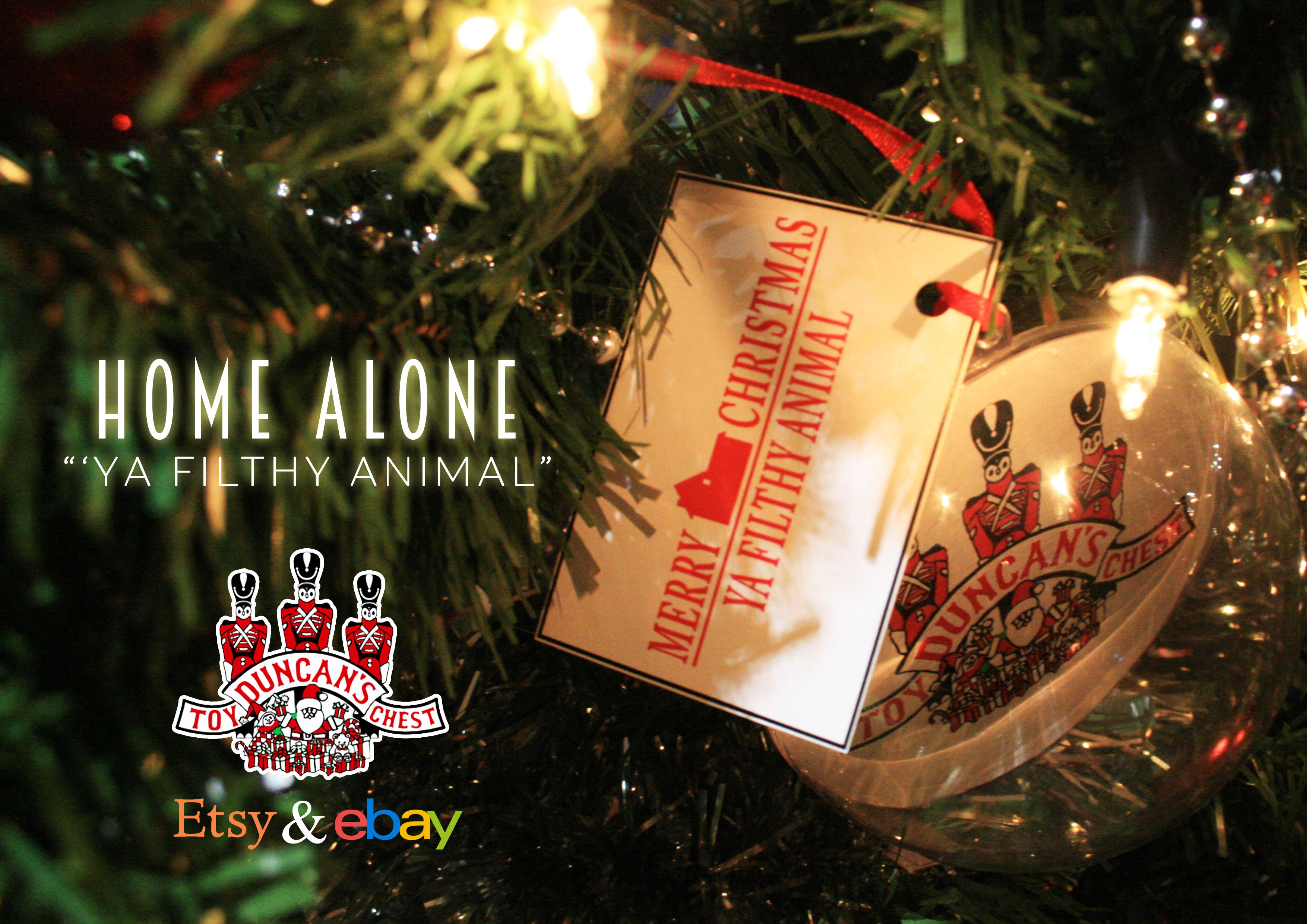 Home Alone 2 Lost In New York Bauble Available At Https Www Etsy Com Uk Shop Duncanstoychest Christmas Tree Baubles Christmas Bulbs Home Alone Christmas