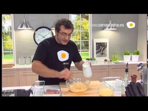 Cocina Contigo | Cocinamos Contigo Receta De Pastel De Jamon Y Queso Bocadillos Y