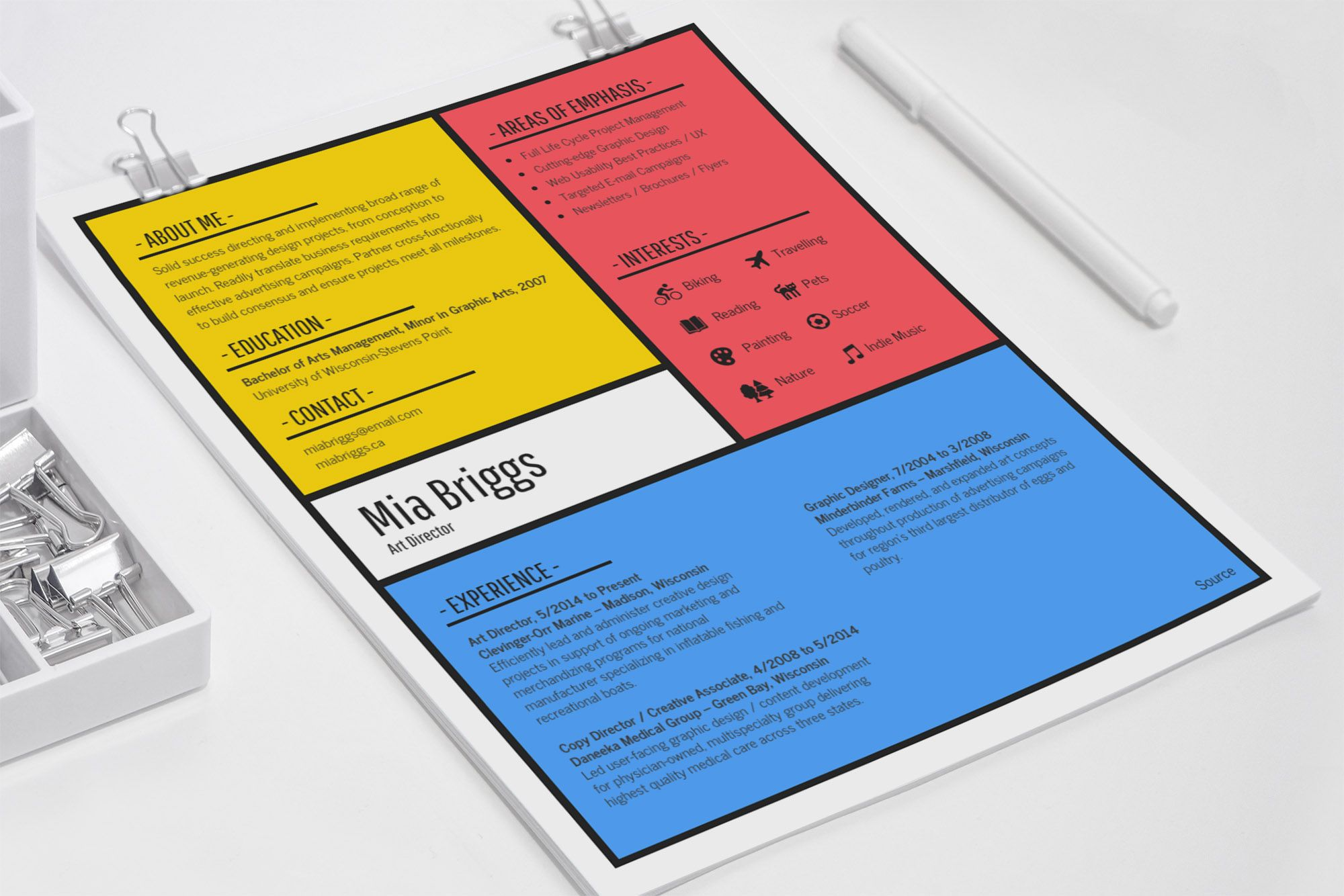 12+ Creative Resume Examples, Templates & Ideas   Daily Design Inspiration 28 - Creative resume, Resume design creative, Resume examples, Creative resume templates, Creative cv, Good resume examples - Need to upgrade your resume or CV  Check out some of these innovative and creative resume examples from a diverse group of designers!