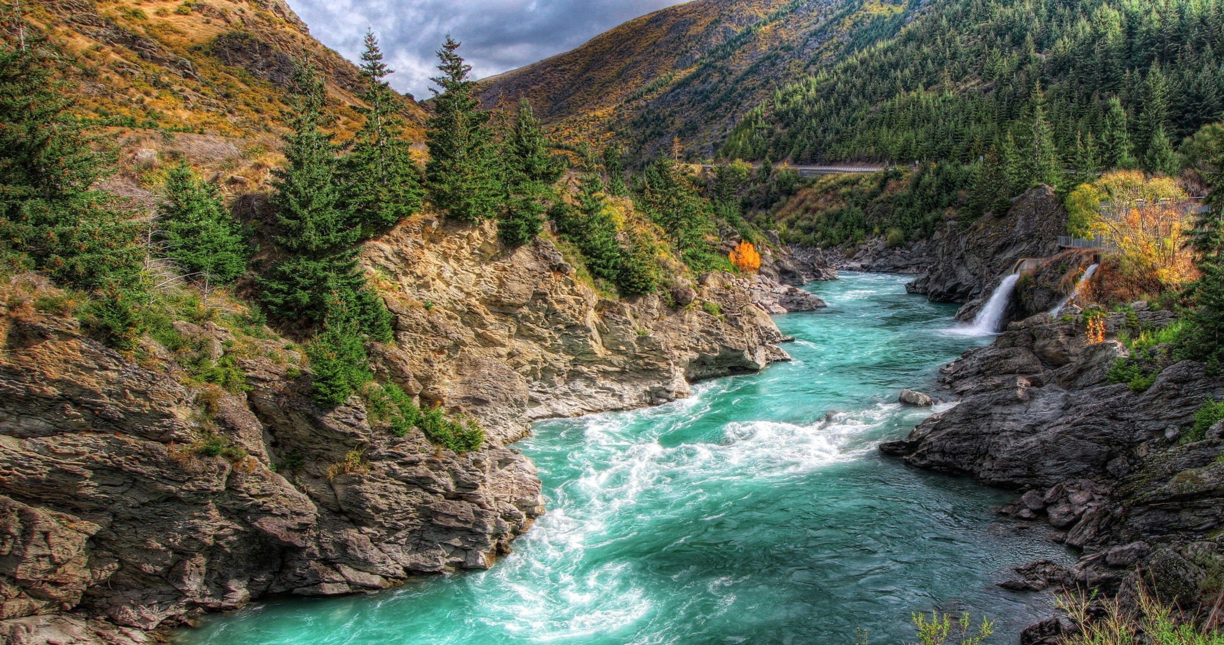 New Zealand River 4K Ultra Hd Wallpaper  Ololoshenka -2866