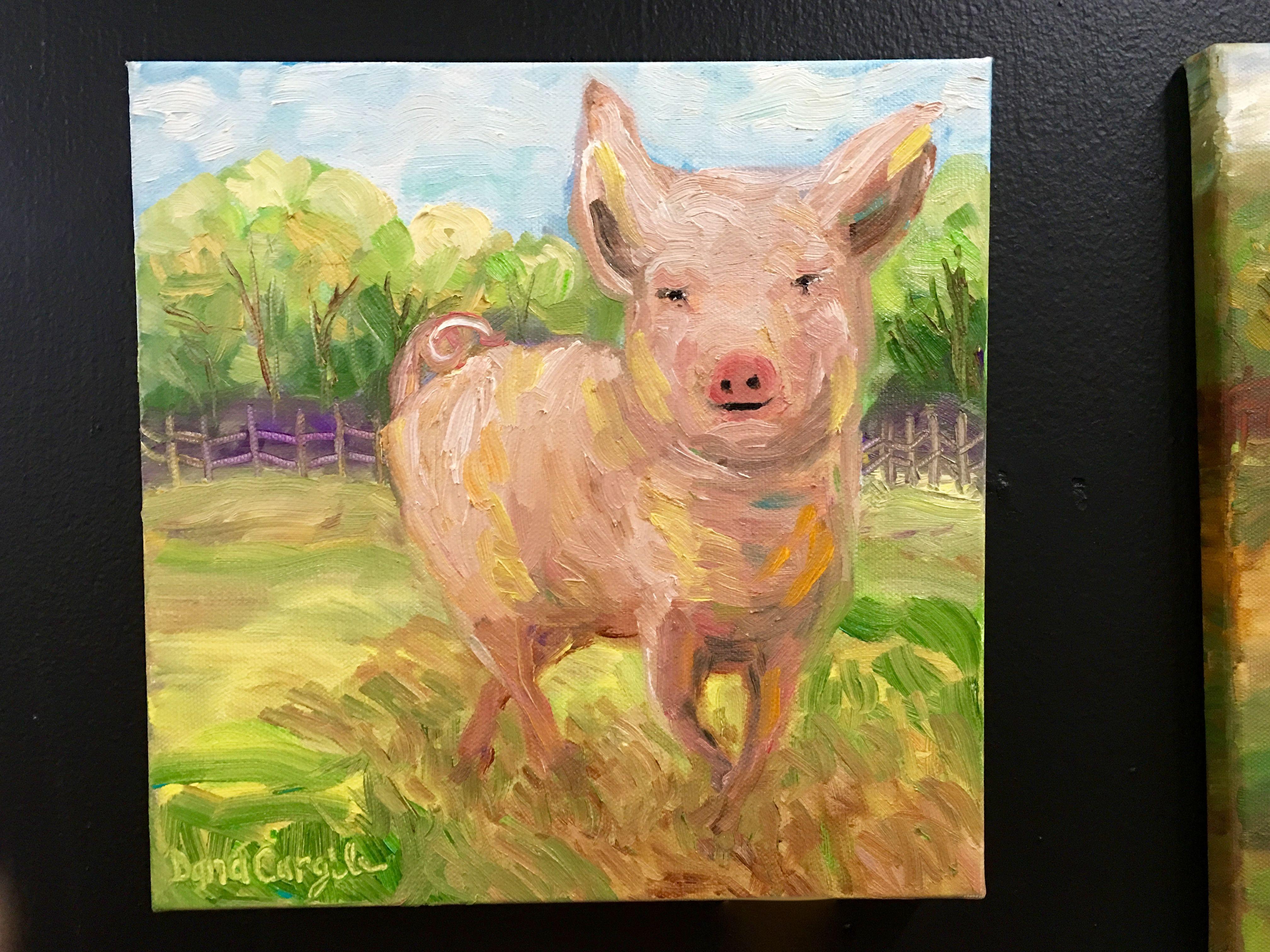 Dana Cargile Art Dealer #1202 This Little Piggy $95 Other Original ...