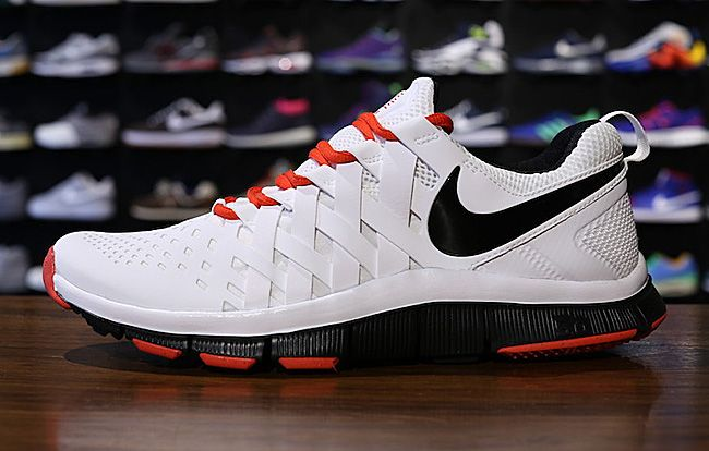 Nike Free Trainer 5.0 | White, Black & Red. Have these and they're  comfortable!