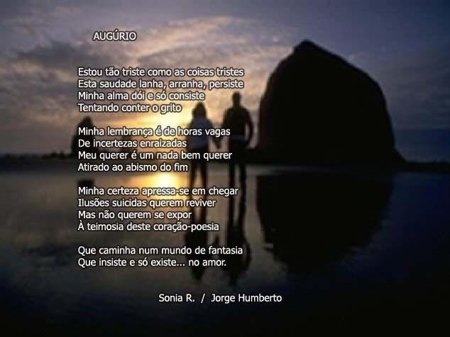 Augúrio - Sonia R. & Jorge Humberto