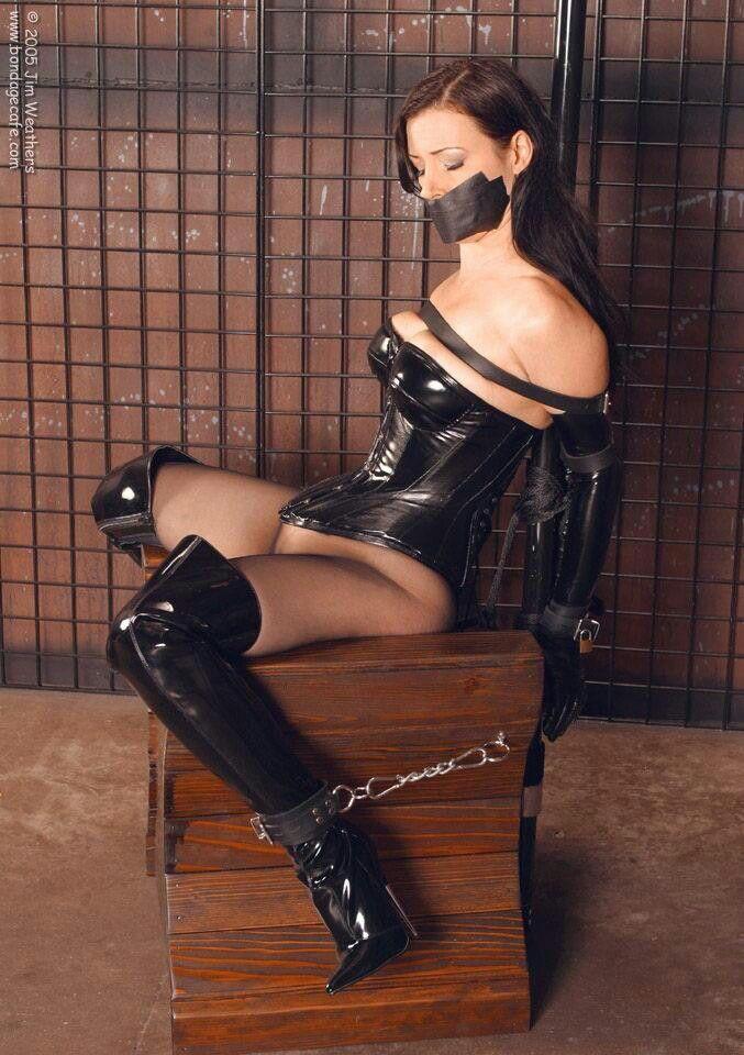 Bondage corset