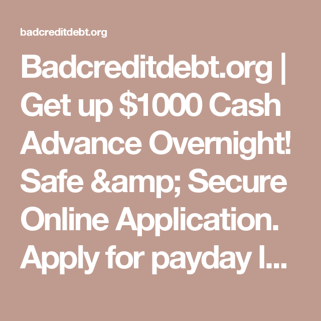Secure Overnight Loans