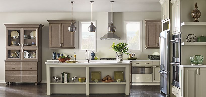 Buxton Cherry Brulee by Thomasville Cabinetry | KITCHEN ...