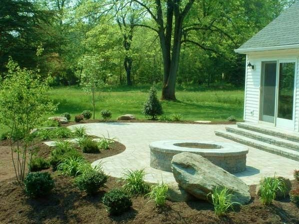 landscaping patios - bing