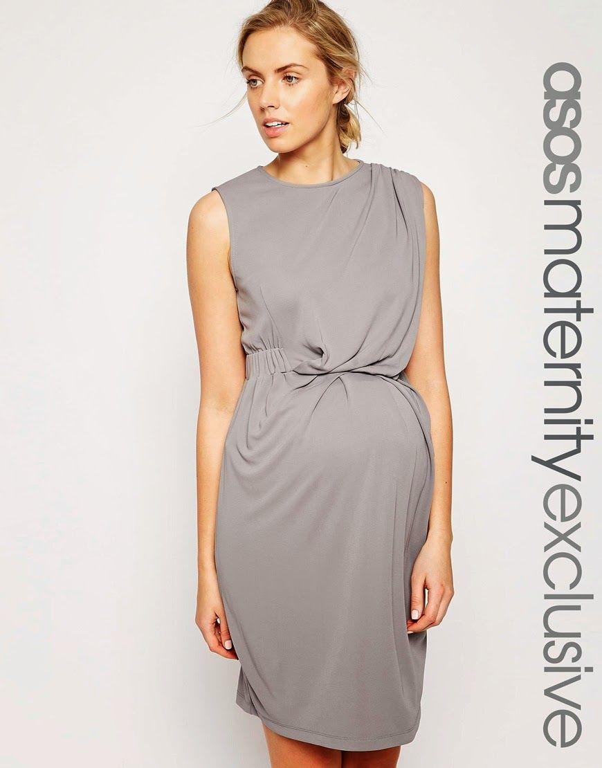 884a9ff3dd7f7 Modernos vestidos de moda para embarazadas