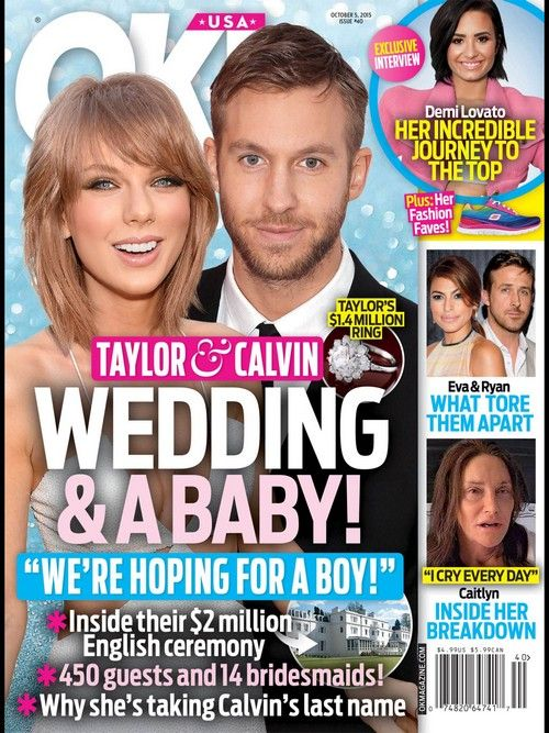 Taylor Swift Wedding and a Baby With Calvin Harris Perfect