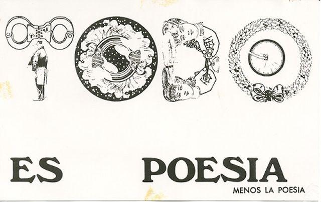 Antipoemas & Artefactos' Poesía visual de Nicanor Parra