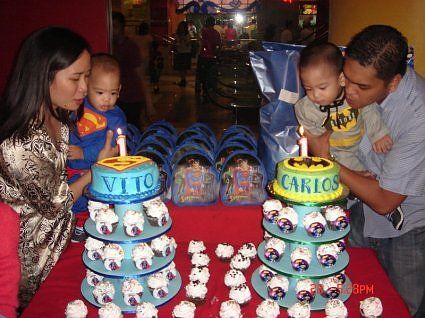 1st birthday party ideas for twin boys1 Twin Stuff Pinterest