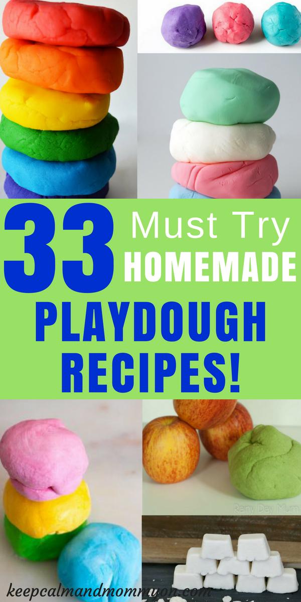 The Ultimate Playdough Recipe List Keep Calm And Mommy On Easy Playdough Recipe Playdough Recipe Homemade Playdough Recipe