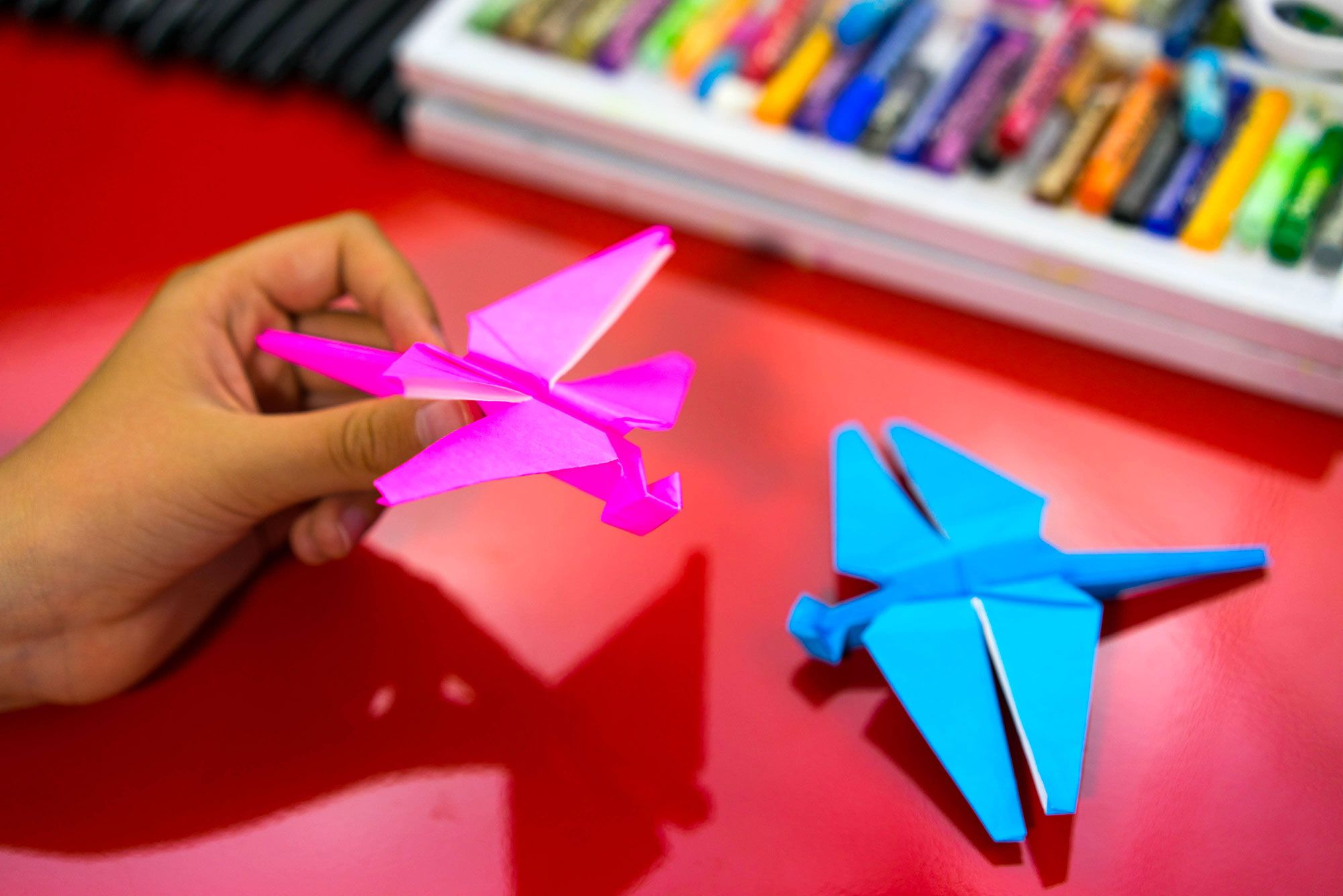 How to make paper dragonfly. Easy Origami - YouTube | 1335x2000