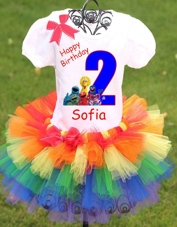 Sesame Street Birthday Outfit Elmo Birthday By Twistintwirlintutus