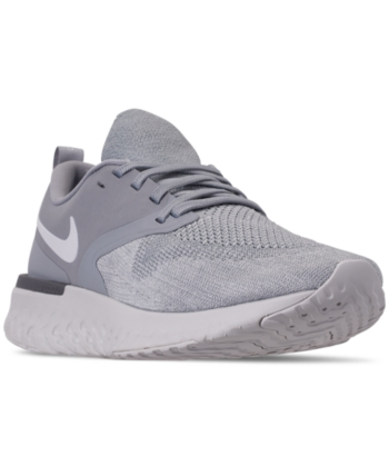 adf132f7a4 Nike Men's Odyssey React Flyknit 2 Running Sneakers from Finish Line -  Black 10.5