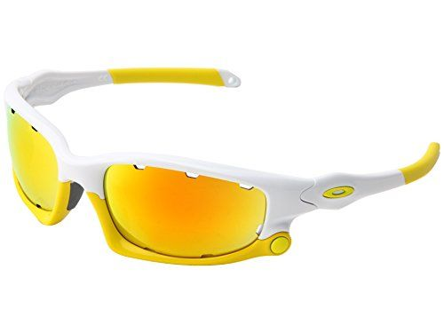 59679e6829 Oakley Mens Split Jacket Iridium Sport Sunglasses Polished White Fire  Iridium Persimmon     More info could be found at the image url.