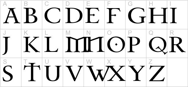 Free Celtic Garamond the 2nd, Regular Font - celtic fonts - Free