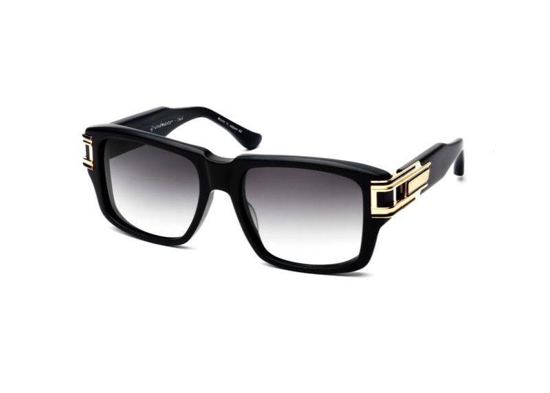 37eb532bc75 Dita Grandmaster Two Square 12K Gold Matte Black Sunglasses