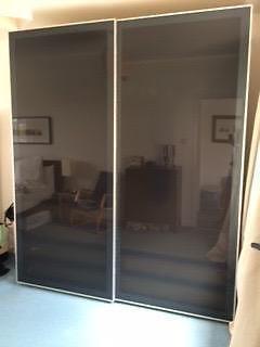 Ikea Pax Wardrobe With Grey Sliding Doors Hastings East Sussex Gumtree