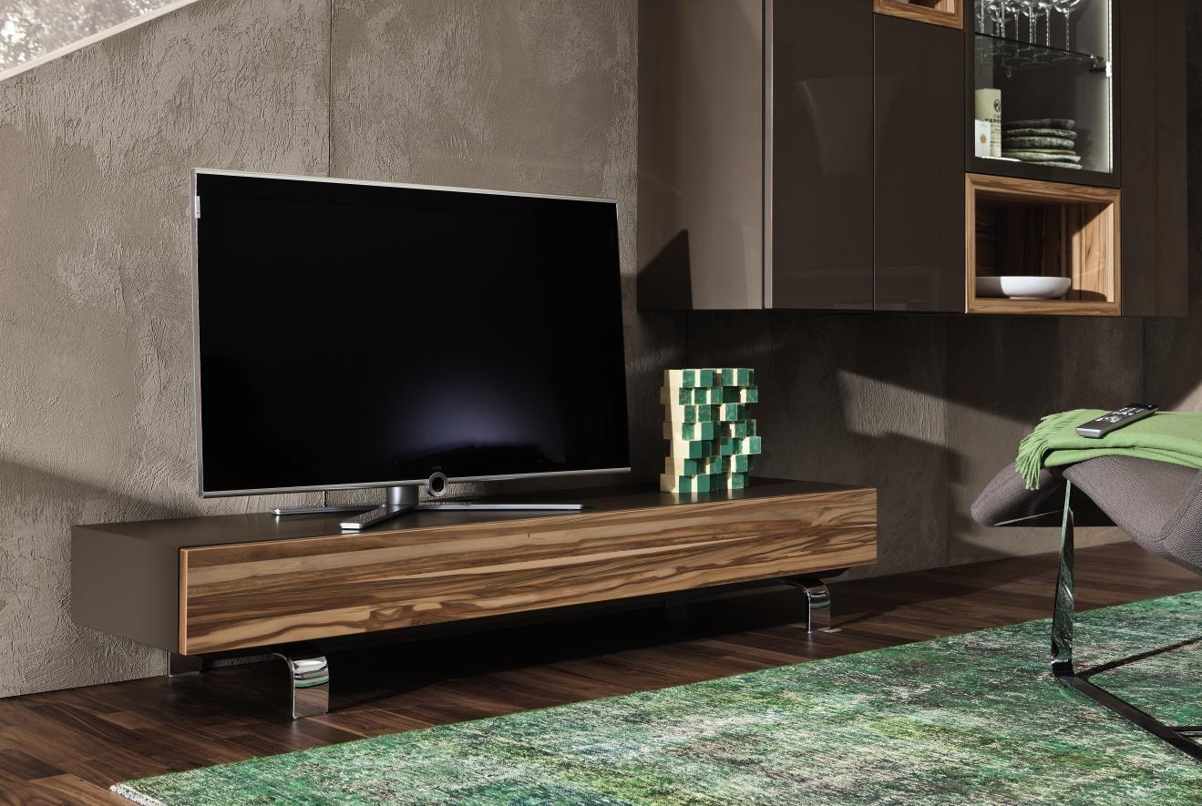 Hulsta Composition Neo Meuble Tv Design Sur Mesure En Verre Laque En Bois Noble En Laque Furniture Design Furniture Sideboard Designs