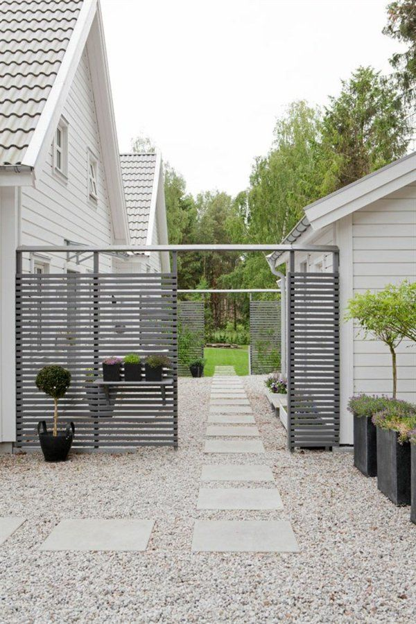 Allées de jardin créatives pour votre extérieur Dalle de beton