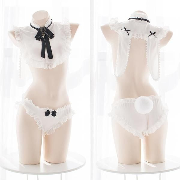 708cee0710bd Ruffle Maid Bunny Lingerie SD00613 in 2019 | OwO | Kawaii clothes ...