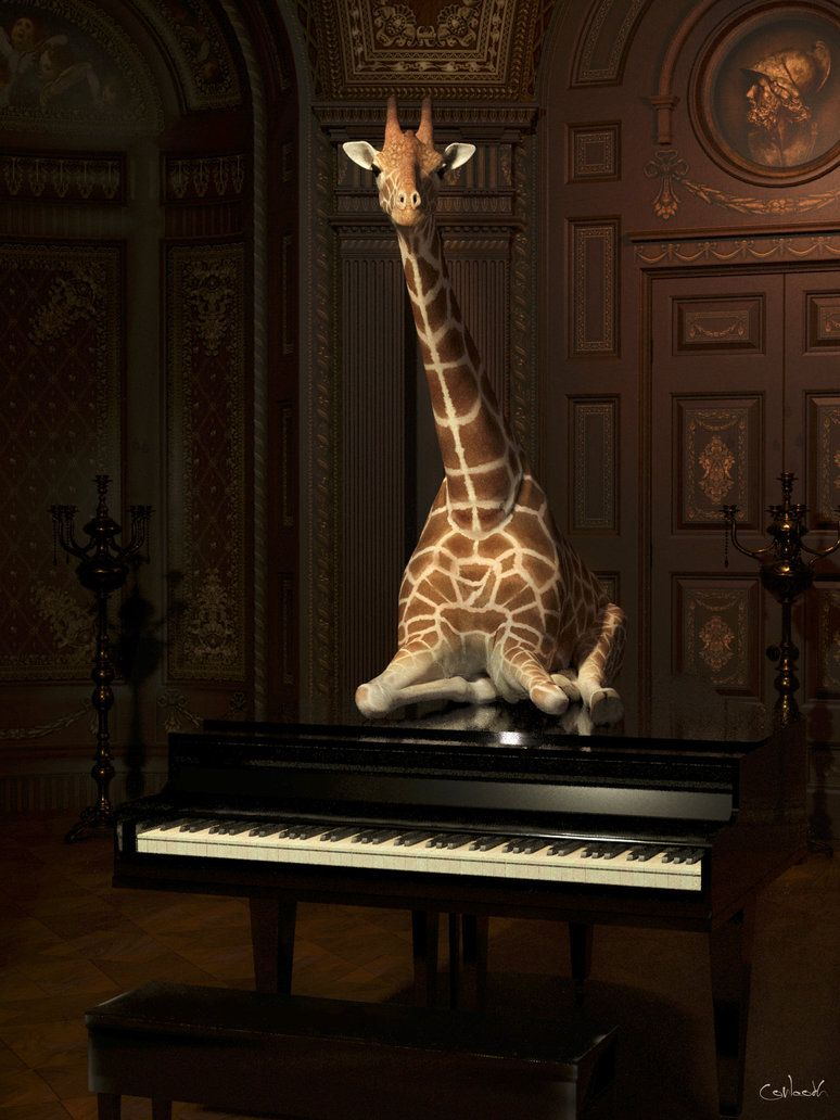 Classical giraffe by conlaodh made w reality learn how